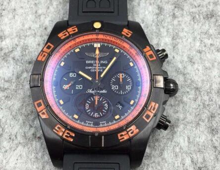 Реплика Breitling Chronomat Raven Blacksteel MB0111C2