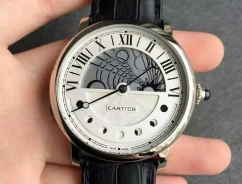 Реплика Rotonde De Cartier W1556244 Уникальные часы